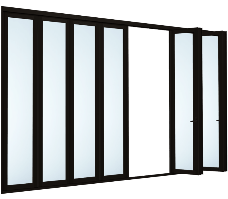 Folding door (8 panels)