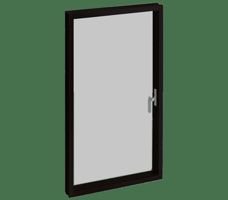 Casement window (with hinge or pivot)