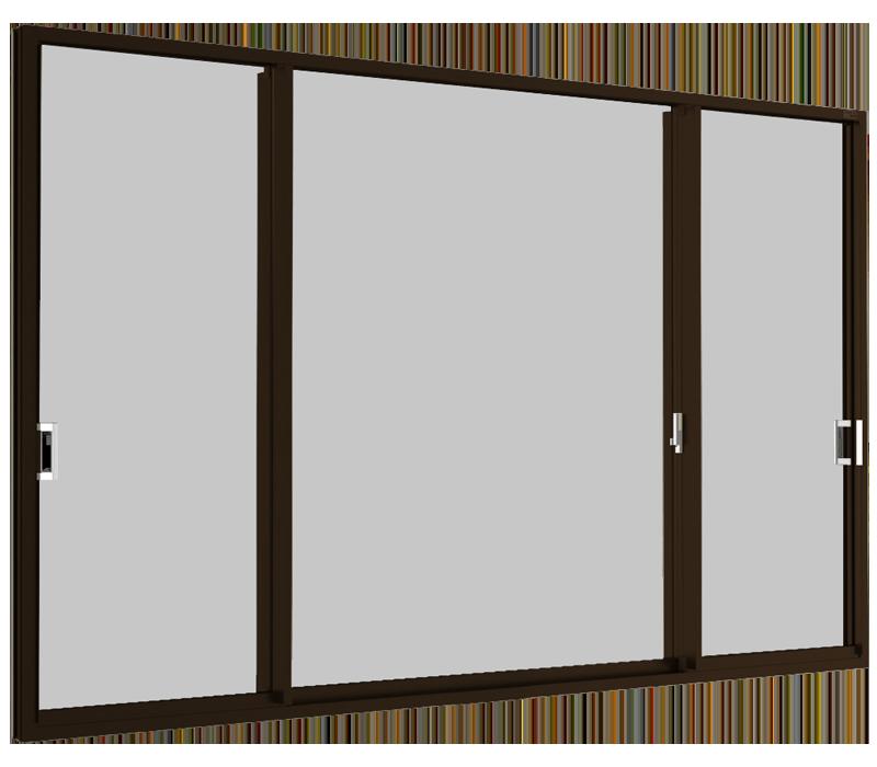 Sliding window (3 panels on 2 tracks) SFS