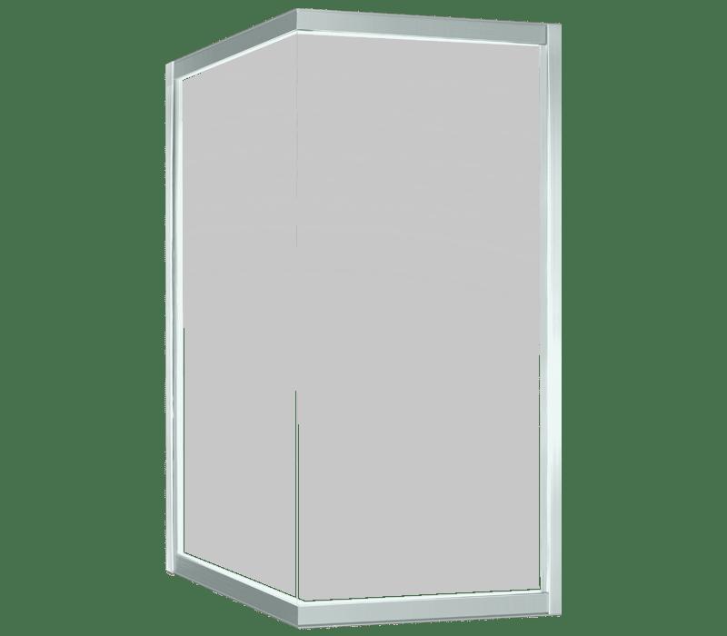 Aluminium Window - Corner fixed window