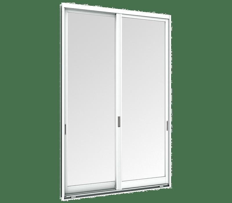 Aluminium Entrance sliding door (2 panels on 2 tracks)