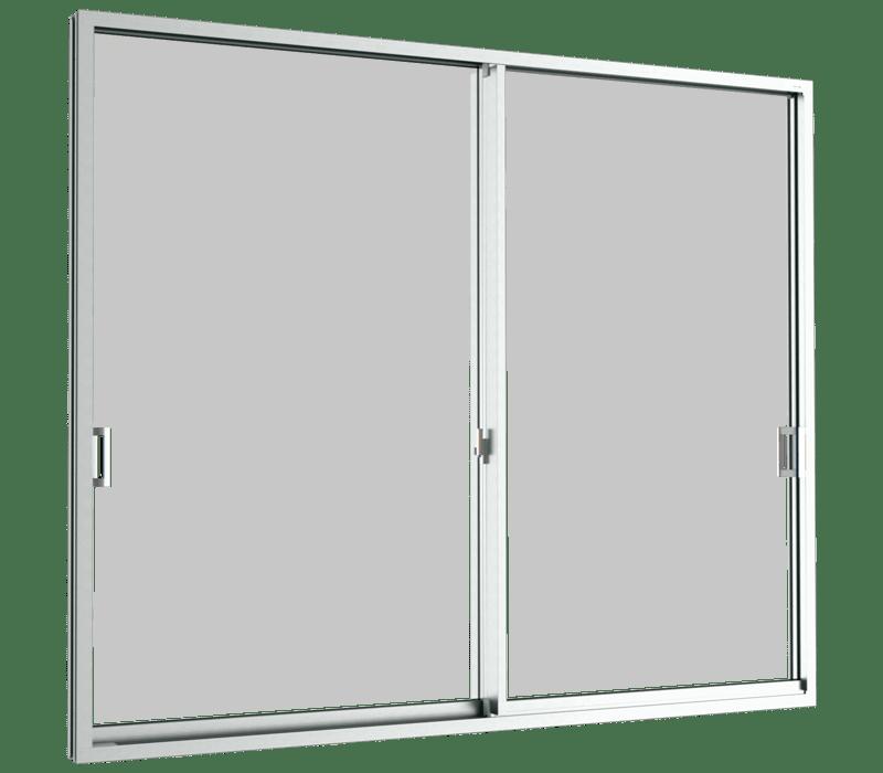 Aluminium Sliding Door - Sliding door (2 panels on 2 tracks)