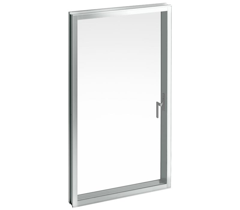 Aluminium Casement window (with friction stay)