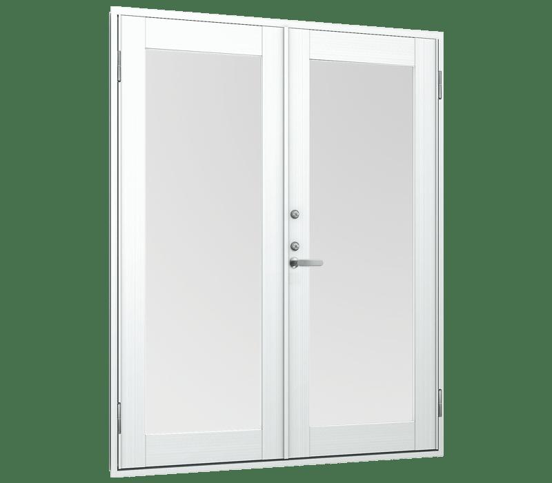 Aluminium Out-Swing double door