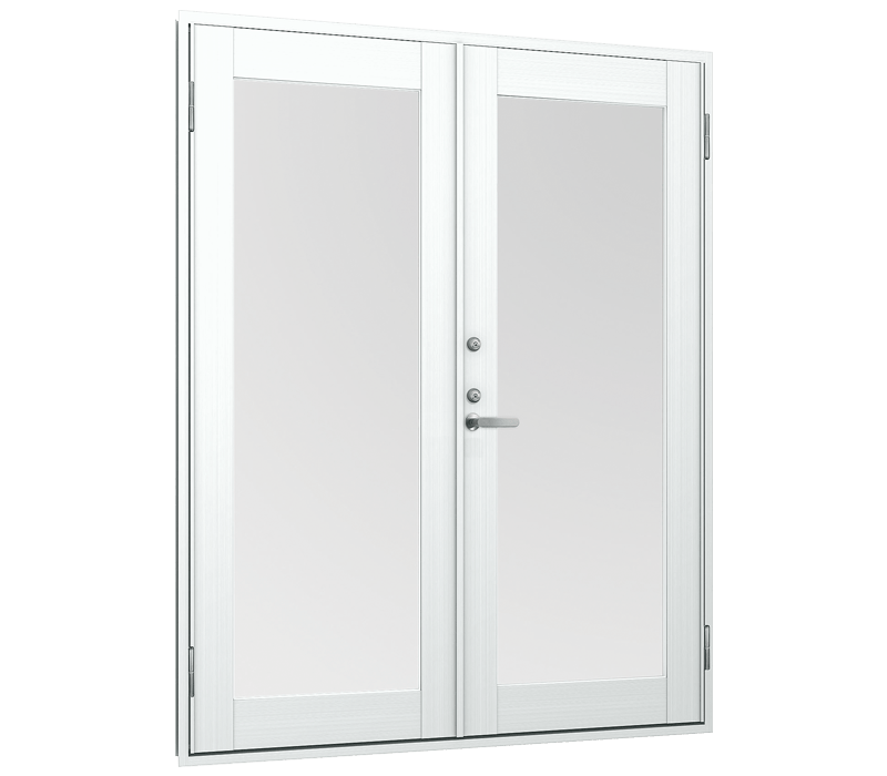Aluminium Out-Swing double door