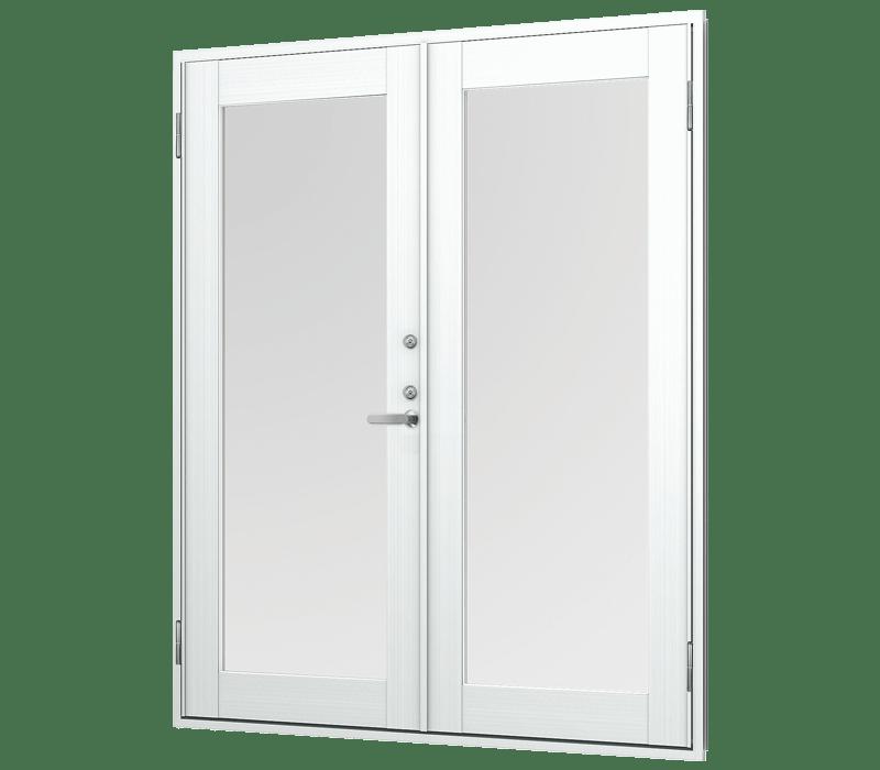 Aluminium Swing Double Door