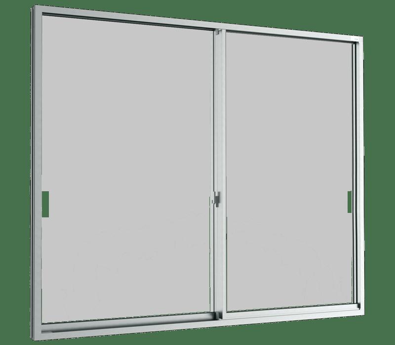 Aluminium Sliding window (2 panels on 2 tracks)