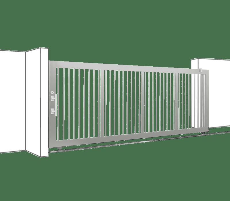Aluminium Single Sliding Gate