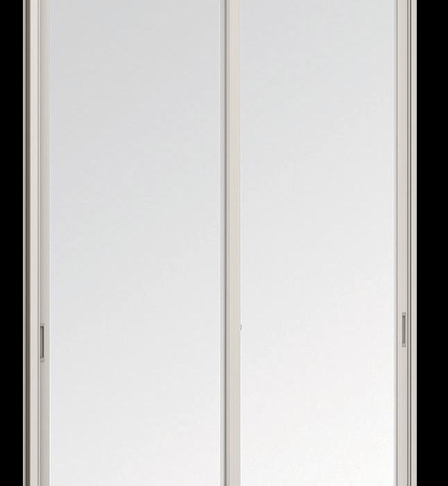 Aluminium Sliding window - 2 panels on 2 tracks