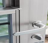 Aluminium Ventilation Door - Highly Secure