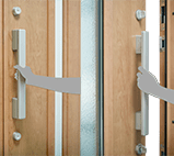 Aluminium Door - Convenient and comfortable Push & Pull bar handle