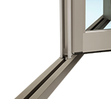 Aluminium Folding Door - Flat sill is a available and allows barrier-free passage