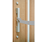Aluminium Door - Higher security with double lock system