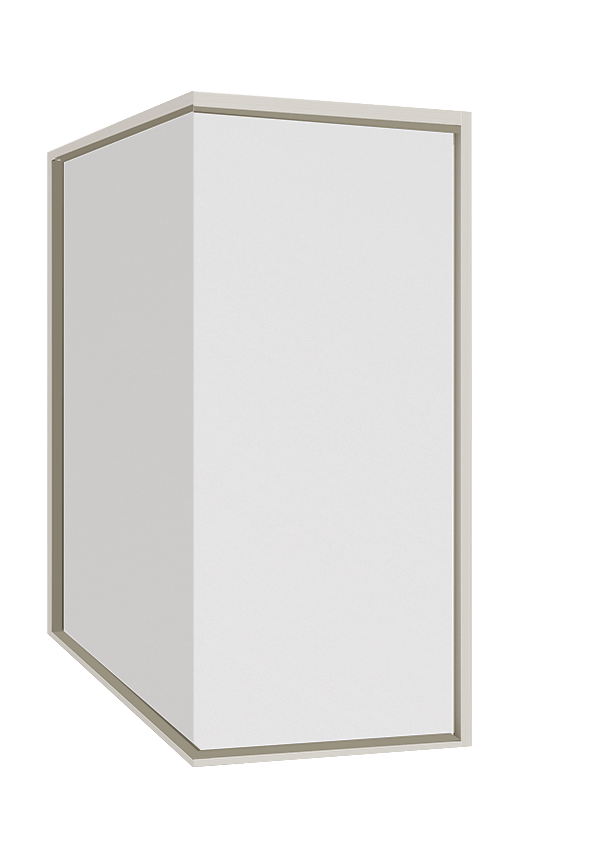 Aluminium Corner fixed window