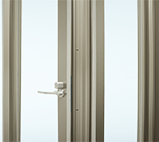 Aluminium Folding Door - Hinge-less design