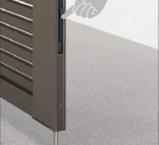 Aluminium Swing Gate - Concealed Ded Bolt