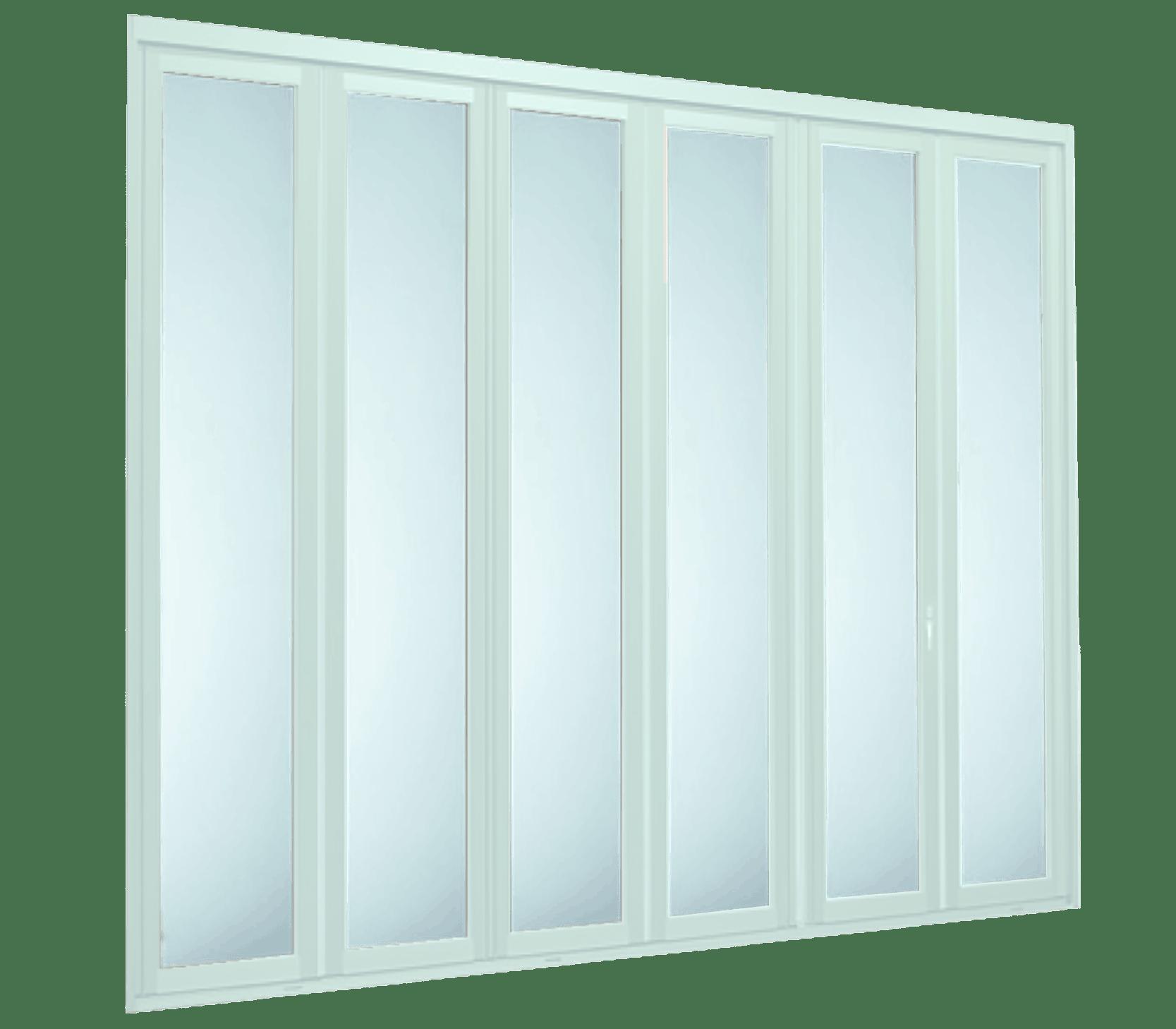 Aluminium Folding Doors - 6 Panel