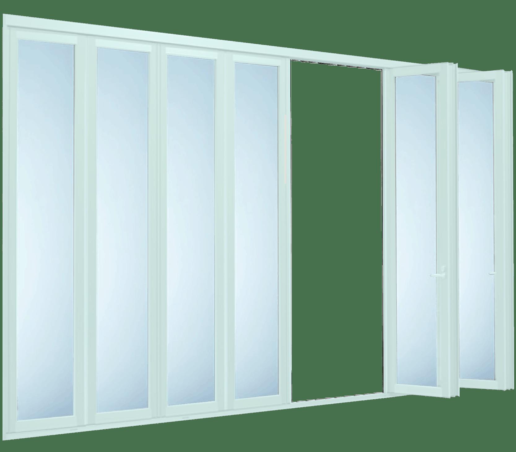 Aluminium Folding Doors 8 Panels