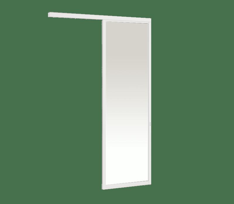 Aluminium In-wall Hanging door (1 panel on 1 track)