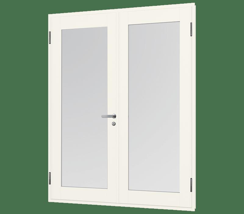 Aluminium In-Swing door (double)