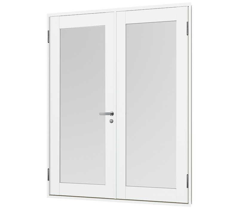 Aluminium In-Swing door (double)