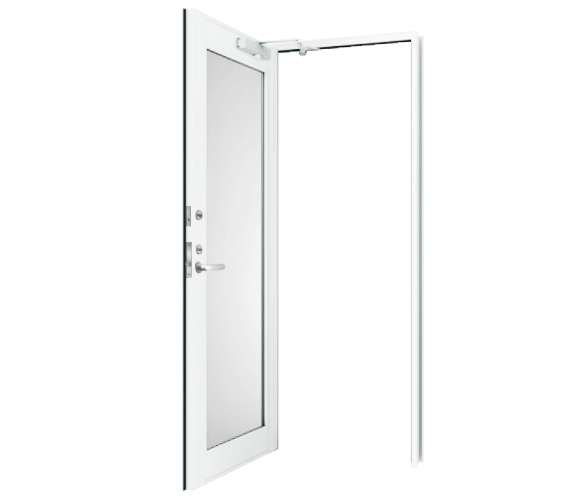 Aluminium In-Swing door (single)