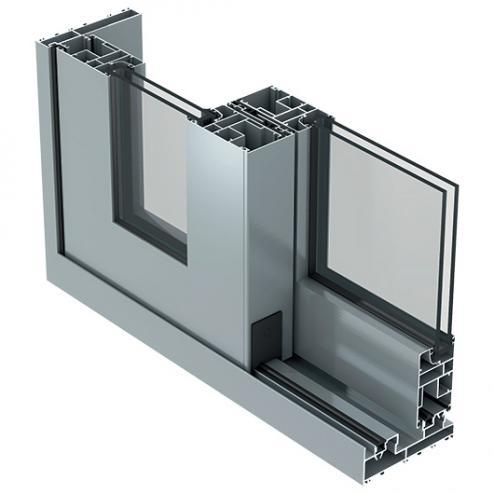 SC140 - Aluminium Folding Sliding Doors
