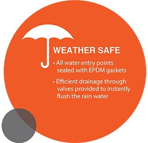 Tostem India - Weather safe performance